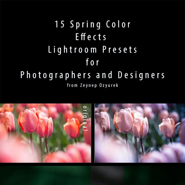 15 Spring Colors Presets For Lightroom