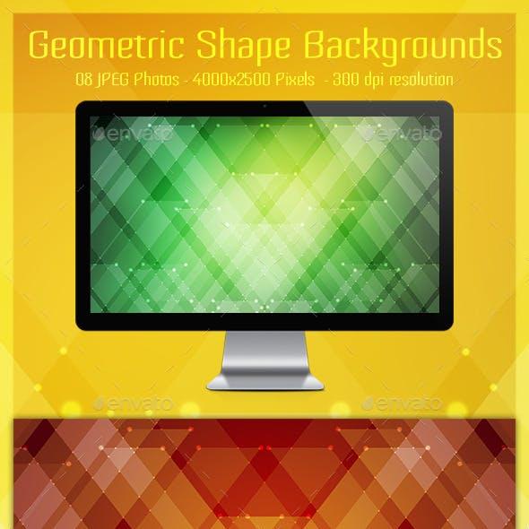 Geometric Line Backgrounds V2