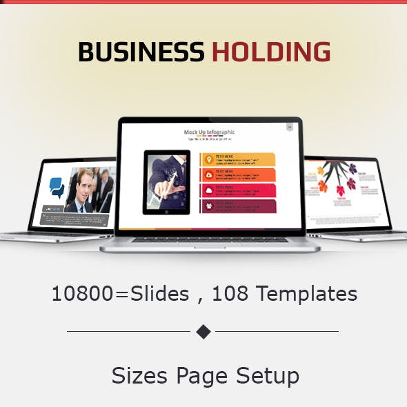 Business Holding Presentation Template