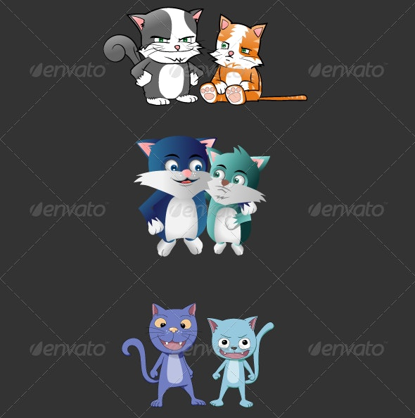Alley Cats - Animals Characters