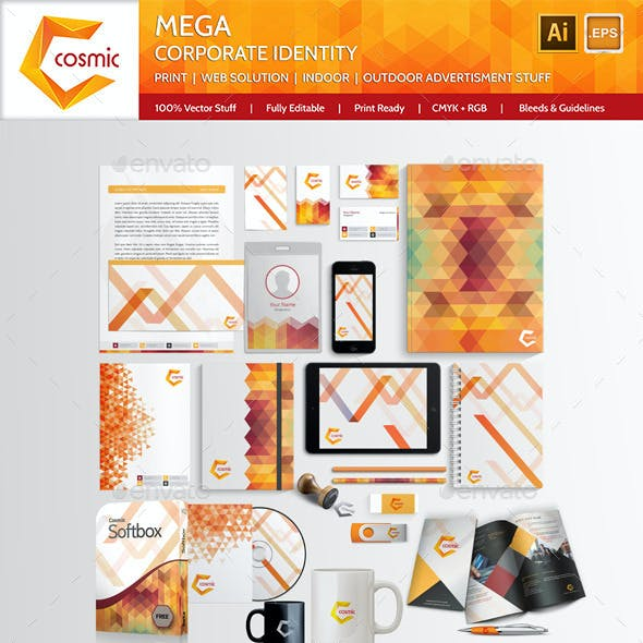 Mega Brand / Corporate-Identity-Cosmic