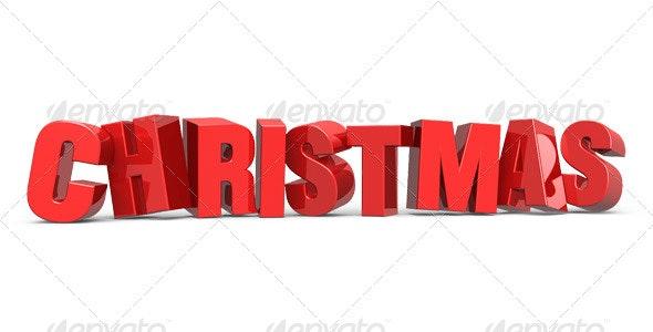 Christmas - Miscellaneous 3D Renders