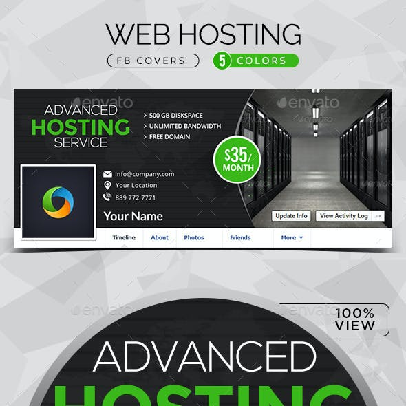 Web Hosting Facebook Cover