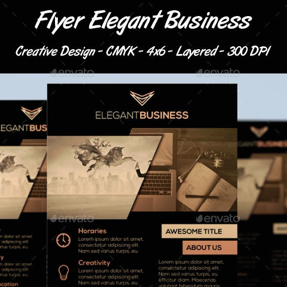 Flyer Elegant Business
