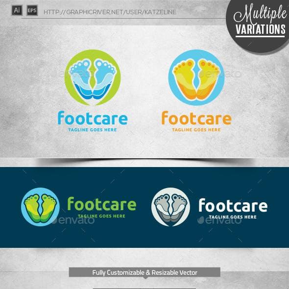 Foot Care - Logo Template