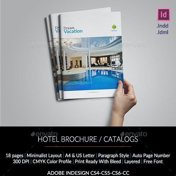 Hotel Brochure/Catalogs A4