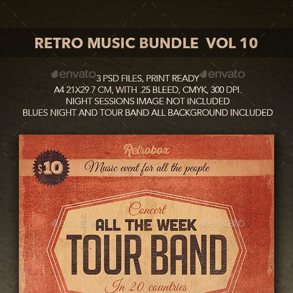 Retro Music Bundle vol 10