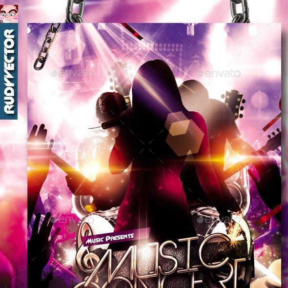 Concert Music Band Flyer