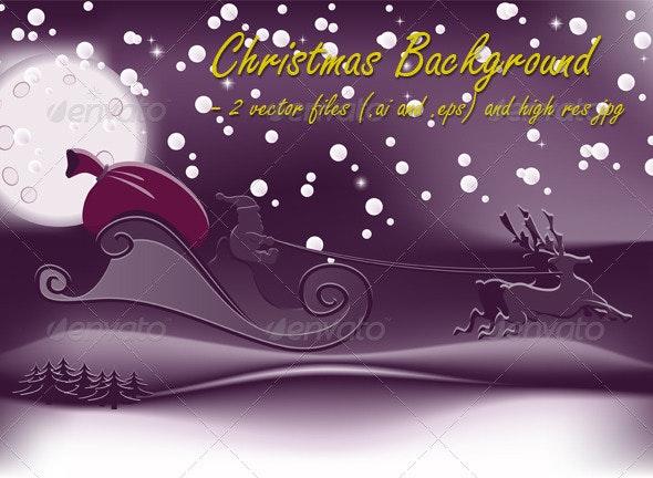 Christmas Background 03 - Christmas Seasons/Holidays
