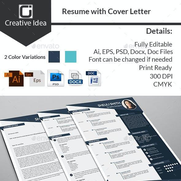 CV/Resume & Cover Letter