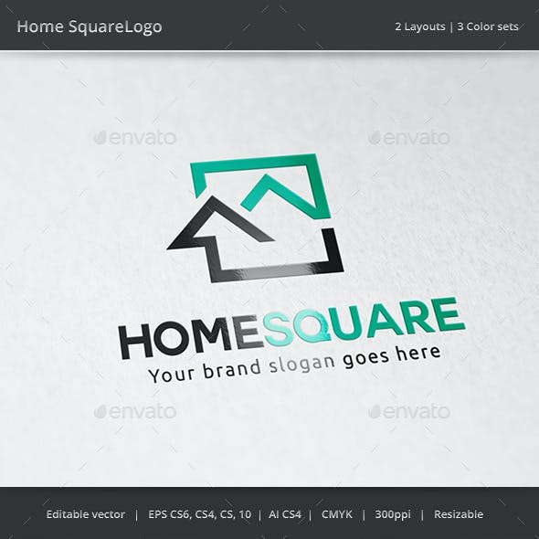 Home Square Real Estate Logo