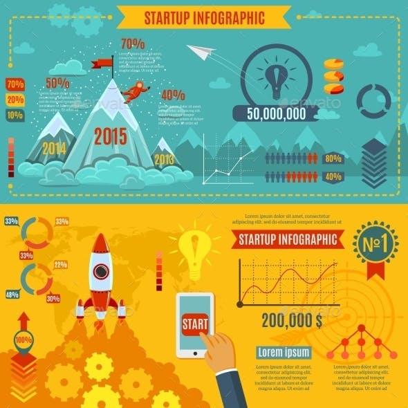 Startup Infographics Set