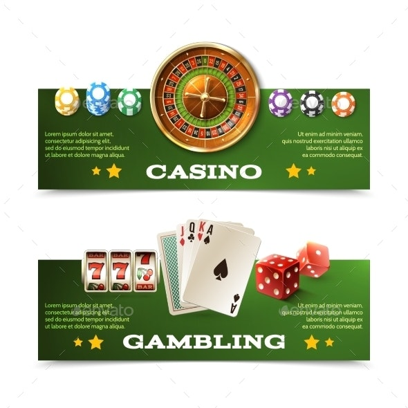 Casino Banners Set - Miscellaneous Conceptual