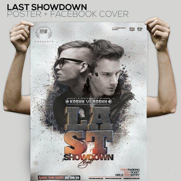 Showdown Night PSD Flyer / Facebook