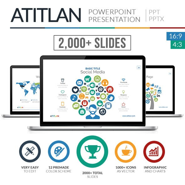 Atitlan PowerPoint Presentation Template
