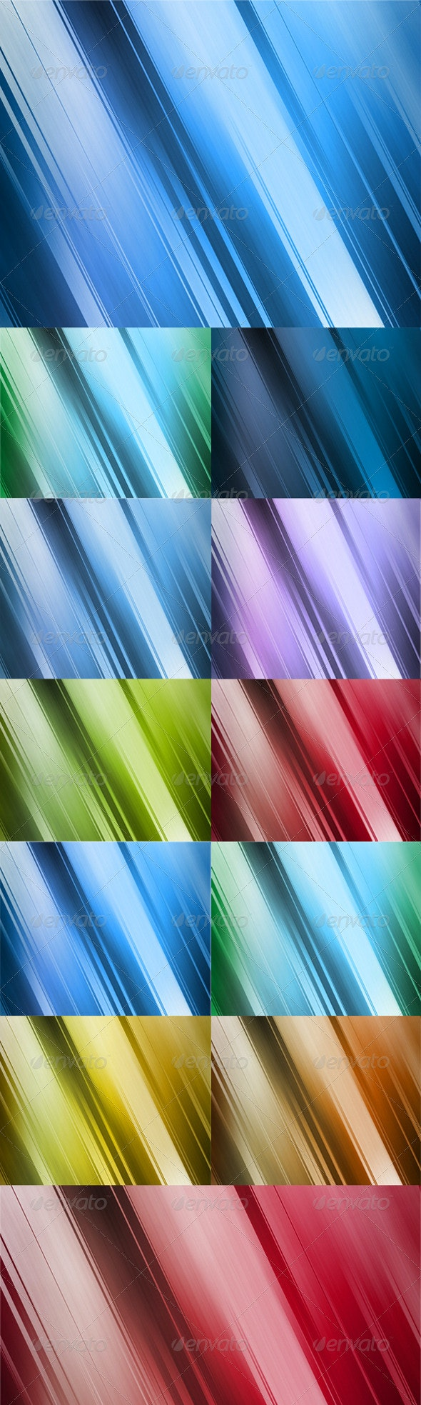 10 Abstract Backgrounds: 10 colors - Backgrounds Graphics