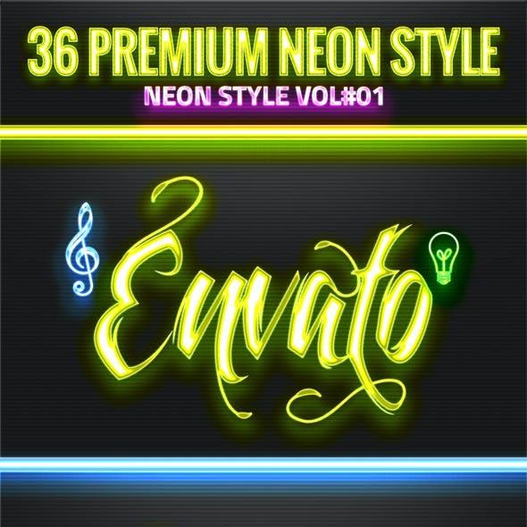 36 Neon Style V01