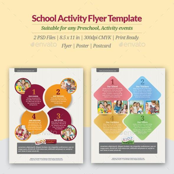 School Activity Flyer Templates
