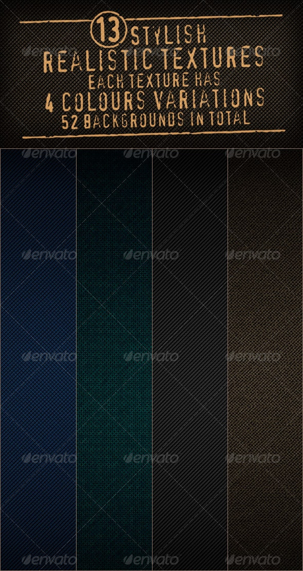 13 Realistic Pattern Textures Backgrounds - Backgrounds Graphics