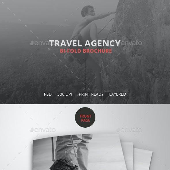 Travel Agency Bi-Fold Brochure