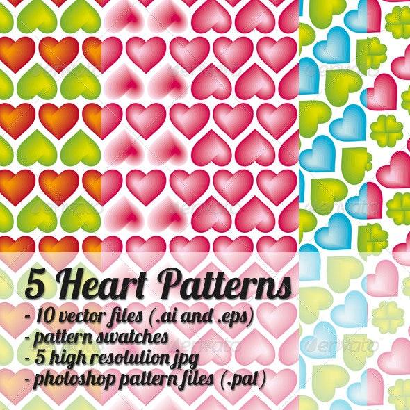 Heart Pattern - Patterns Decorative