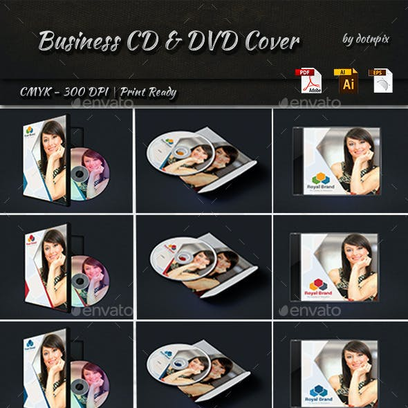 Business CD And DVD Cover