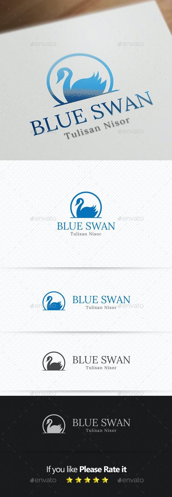 Swan Logo Template - Animals Logo Templates