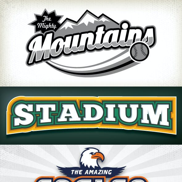Sport Logo Styles