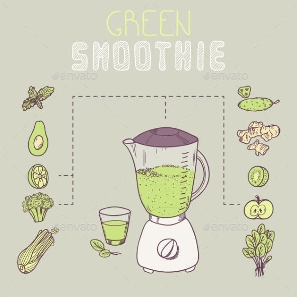 Green Smoothie Template