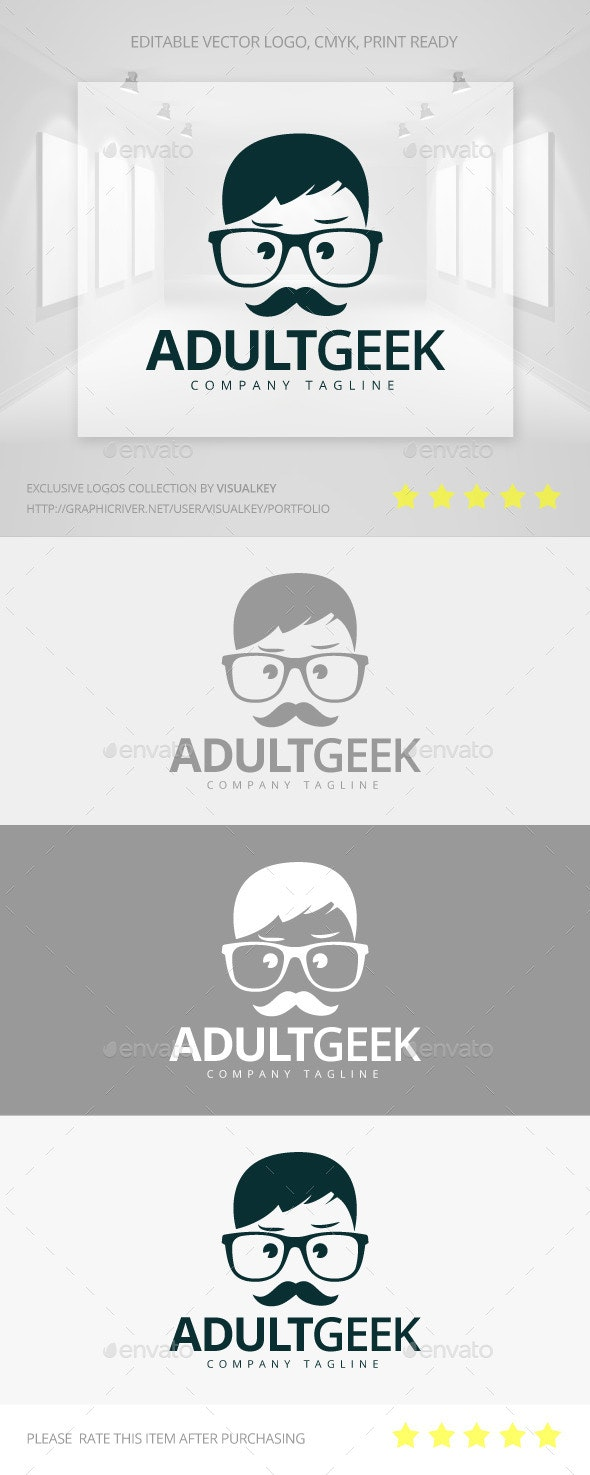 Adult Geek Logo