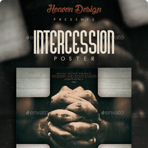Intercession | Flyer