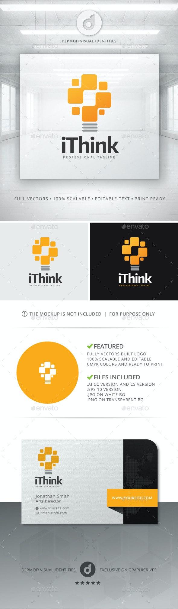iThink Logo - Objects Logo Templates