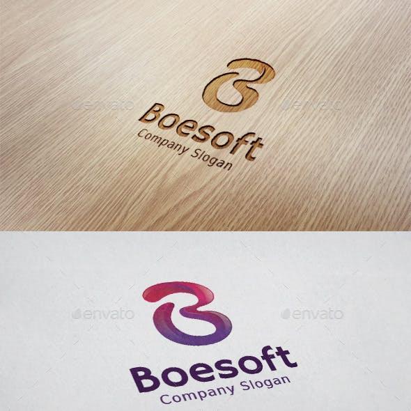 Boesoft - B Letter Logo