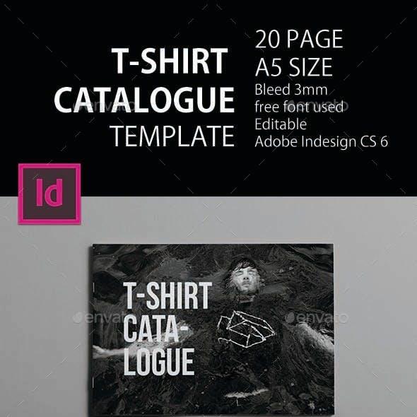 T-Shirt Catalogue Template