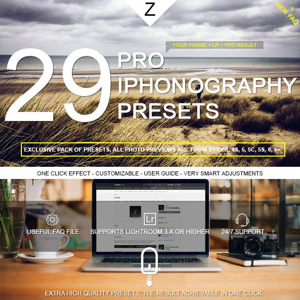29 Pro iPhonography Presets