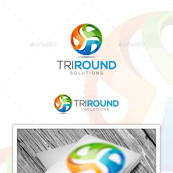 Tri Round logo