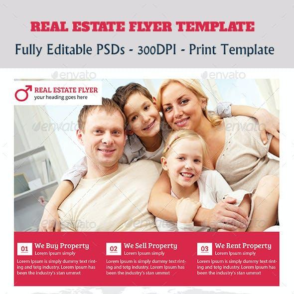 Premium Real Estate Flyer Temp