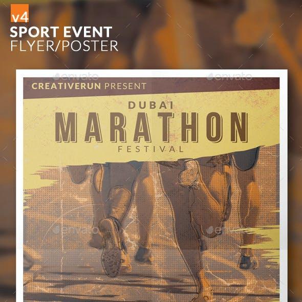 Sport Event Flyer/Poster v4