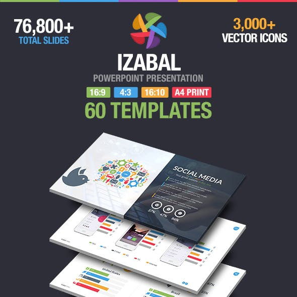 Izabal Multipurpose Powerpoint Template