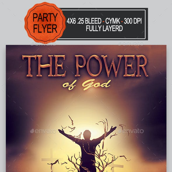 The Power Of God Flyer