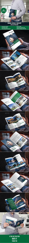 Real Estate Brochure Template - Catalogs Brochures