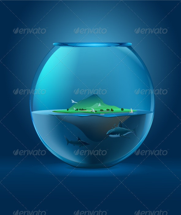 Sharks in a Bowl - Concepts Business