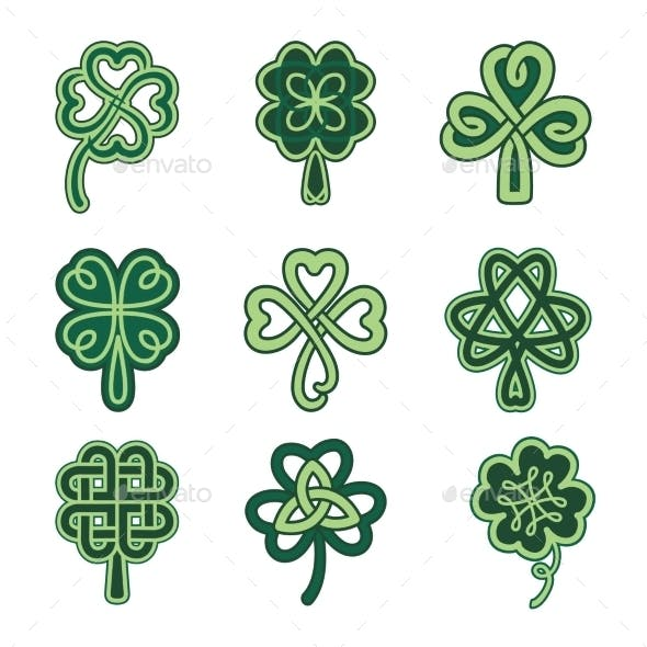 Celtic Clovers