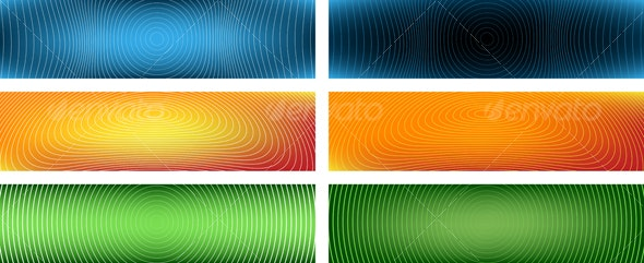 Wireless Banners - Backgrounds Decorative