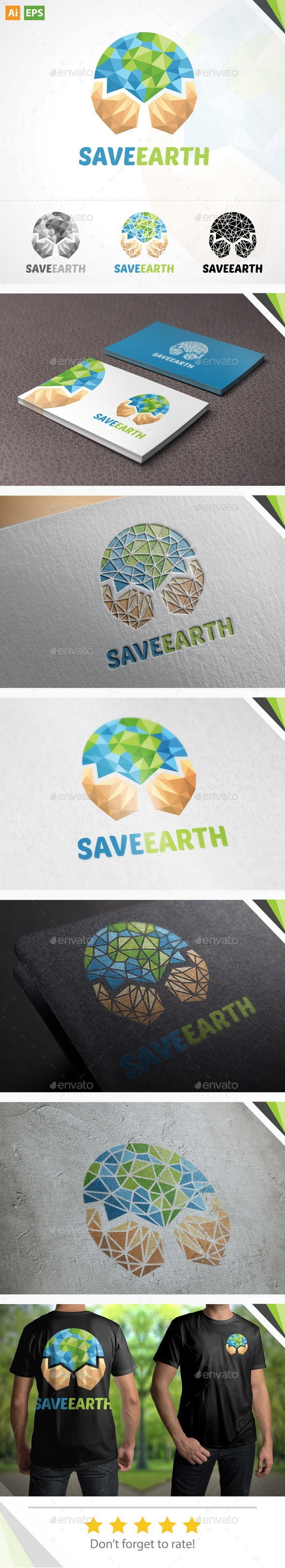 Earth Logo - Nature Logo Templates