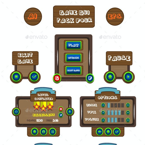 Game GUI Pack Four