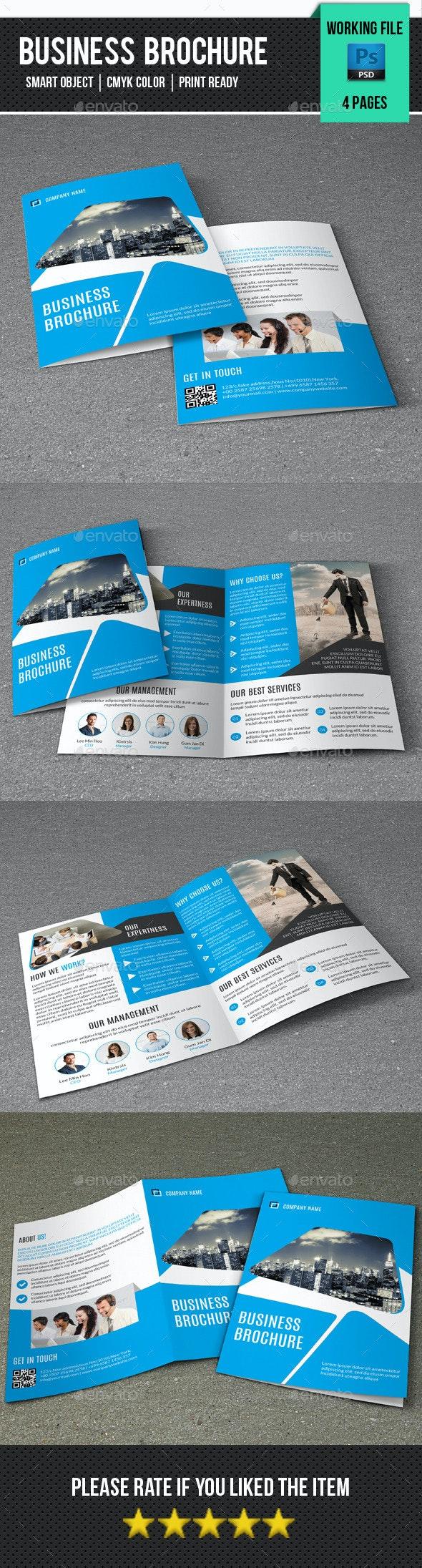 Corporate Bifold Brochure-V239 - Corporate Brochures