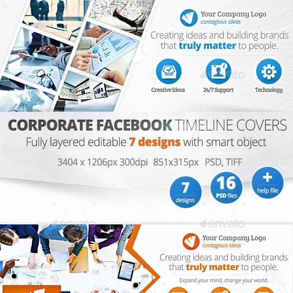 Corporate Facebook Timeline Covers