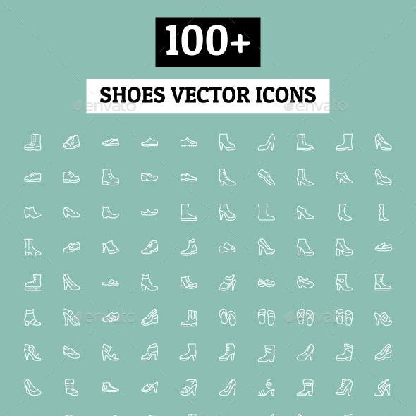 100+ Shoes Vector Icons