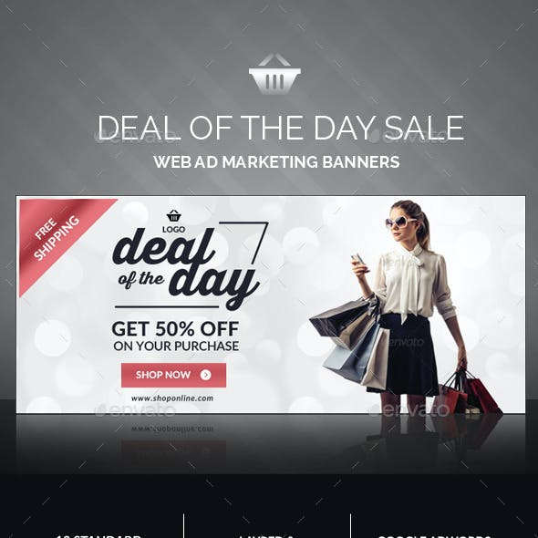 Daily Deals Banners